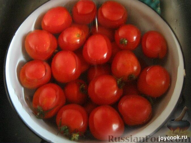 Рецепт сладких помидор зиму