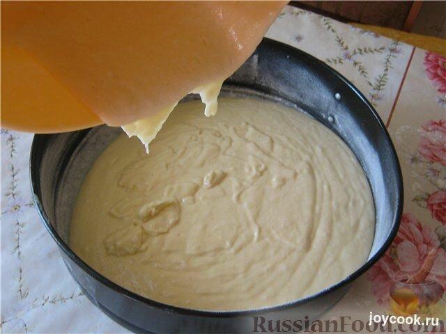 Рецепт манника на сметане в духовке с пошагово