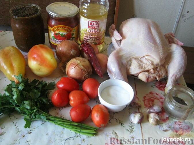 Классический рецепт чахохбили из курицы по-грузински с пошагово в