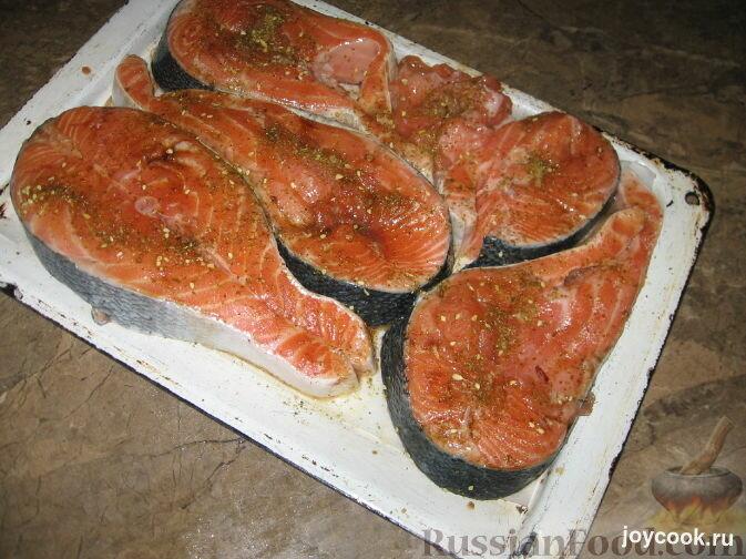 рыба лосось в духовке рецепты с фото энергичный, чувственно-бодрящий аромат