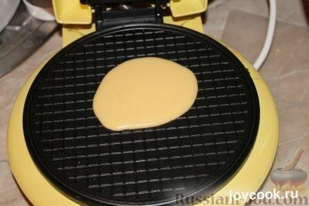 Как делать трубочки в вафельнице рецепт пошагово хрустящие