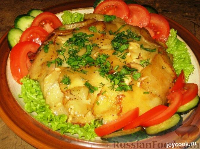 Картошка дипломат с мясом рецепт