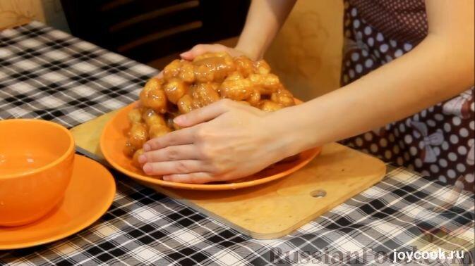 Торты без выпечки из кукурузных палочек рецепты 11