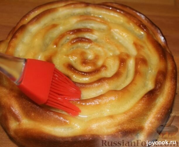 Чтобы пироги были румяными и блестящими