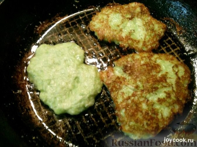 Оладья из кабачков рецепт с пошагово на сковороде