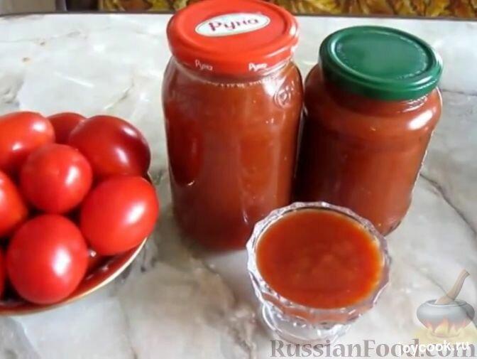 Легкий кетчуп в домашних условиях