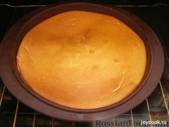 Пирог из сметаны воздушный с