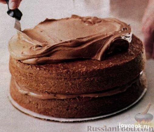 Крем шоколадный для торта в домашних условиях рецепт с фото