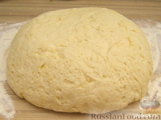 Как сделать тесто для пирожков на дрожжах фото