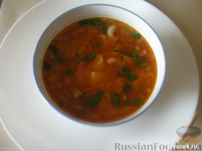 Как сделать суп с картошкой и макаронами