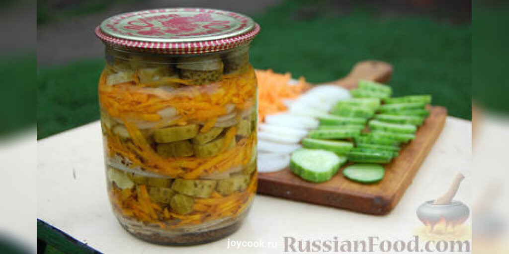 салат с огурцов на зиму реализуем изделия