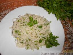 Салат из редьки: Готовьте с удовольствием! Приятного аппетита!