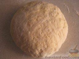 Бездрожжевое тесто для пиццы: Бездрожжевое тесто для пиццы готово.  Рецепт проверен.