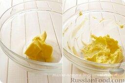 Глазурь из творожного сыра - Cream Cheese Frosting: Как приготовить глазурь для торта:  Сливочное масло взбиваем в кремообразную массу.