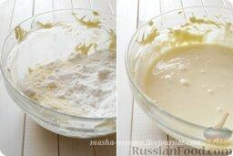 Глазурь из творожного сыра - Cream Cheese Frosting: По чуть-чуть добавляем просеянную сахарную пудру, чтобы не было комочков и тщательно перемешиваем крем-глазурь.    Готовой глазурью покрываем остывший кекс или пирог.