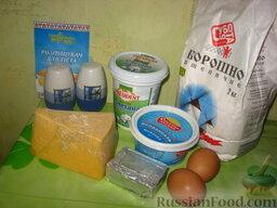 Сырные оладушки: Как приготовить оладьи сырные:  Приготовить все продукты на оладушки.