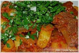 Азу по-татарски: Да-да, можно и не чай, под такое блюдо – совсем не грех! Ашларыгыз тәмле булсын! Приятного аппетита!