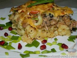 "Запеканка с фаршем и макаронами под соусом ""Бешамель"": Запеканка из макарон с фаршем готова. Приятного аппетита!"