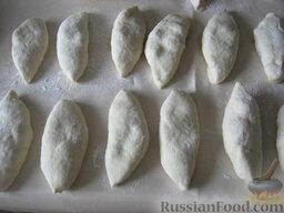 Жареные пирожки с абрикосами: Дать пирожкам подойти 10-20 минут.