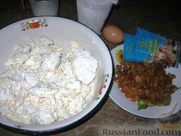 Сырники полоцкие: Продукты для полоцких сырников с маком.