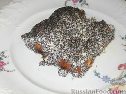 Сырники полоцкие: Подавать сырники с маком горячими.  Приятного аппетита!