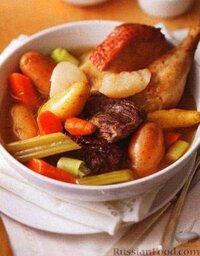 Рагу из овощей и мяса (в медленноварке)