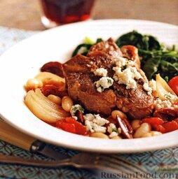 Баранина с овощами и фасолью (в медленноварке)
