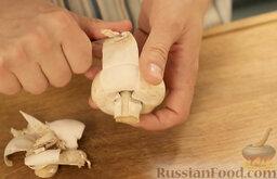 Крем-суп из шампиньонов: Как приготовить крем-суп из шампиньонов:    Шампиньоны очистить.