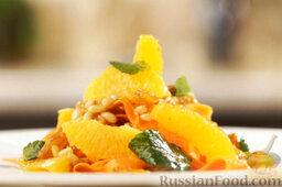 Марокканский салат с морковью и апельсинами: Приятного аппетита!