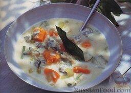 Тыквенный суп с рисом