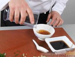 Котлетки из лосося: С желе все еще проще. К соевому соусу добавляем воду.