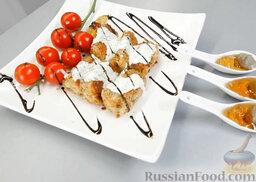 Котлетки из лосося: Чудо-блюдо из лосося готово. Ваши гости будут изумлены его красотой и вашей изобретательностью.     Приятного аппетита!