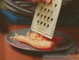 Минестроне: Как приготовить итальянский минестроне:    Морковь очистить и натереть на крупной терке.