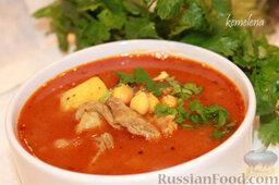Шорба хумус (алжирский суп из нута)