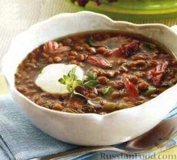 Суп с чечевицей и индейкой (в медленноварке)