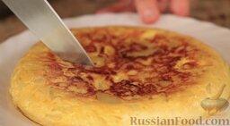 Тортилья де пататас (омлет с картофелем): Вот такая вот лепёшечка!