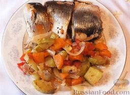 Сельдь с овощами (в мультиварке): Сельдь с овощами готова.  Приятного аппетита!