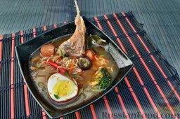 Азиатский суп с ягнятиной