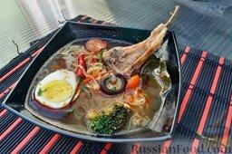 Азиатский суп с ягнятиной: Азиатский суп с ягнятиной.