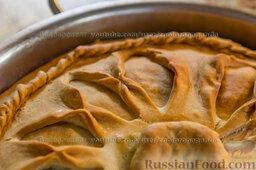 Зур-белиш. Татарский закрытый пирог с картошкой и мясом