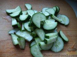 """Овощной салат """"Взрыв вкуса"""" с тофу: Как приготовить овощной салат с тофу"""