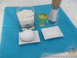 Блинчики с жареным мясом: Ингредиенты для блинов: пшеничная мука, яйцо, растительное рафинированное масло, сахар, соль, питьевая кипяченая вода.