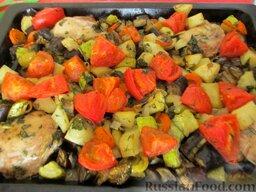 Овощное рагу с курицей: Приятного аппетита!