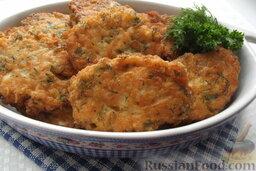 Шницели рубленые из сёмги с сыром: Шницели получаются очень нежными, сочными и невероятно вкусными.