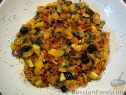 Рататуй (тушеные овощи по-французски)