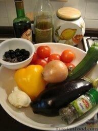 Рататуй (тушеные овощи по-французски): Ингредиенты рассчитаны на 8 человек, но я готовила на 4.