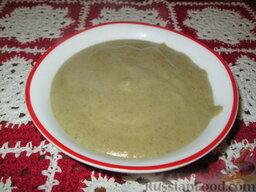 Суп-пюре из шампиньонов и картофеля: Приятного аппетита!