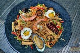 Азиатская лапша с морепродуктами