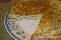 Сырная запеканка с зеленым луком: Как по мне, так в холодном виде эта запеканка гораздо вкуснее, чем в теплом или горячем.   Приятного аппетита!
