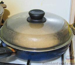 Хачапури по-краснодарски: Сухую сковороду разогреть. Нагрев небольшой. На моей плите 6 позиций, я готовила на